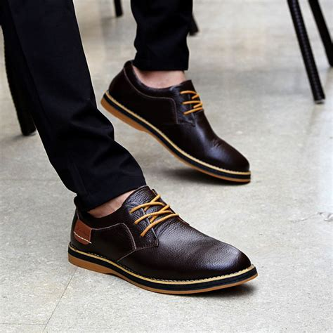 oxford shoes fashion new leader shoe leisure shoes fashion oxford work