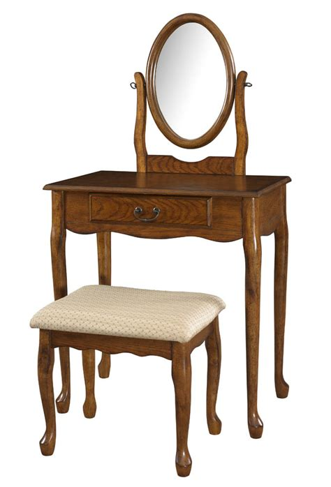 vanities with mirrors and benches vanity mirror bench woodland oak 604 510 decor