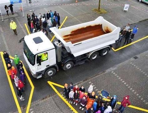 Truck Blind Spots lorry blind spots wrightstart driving school derby