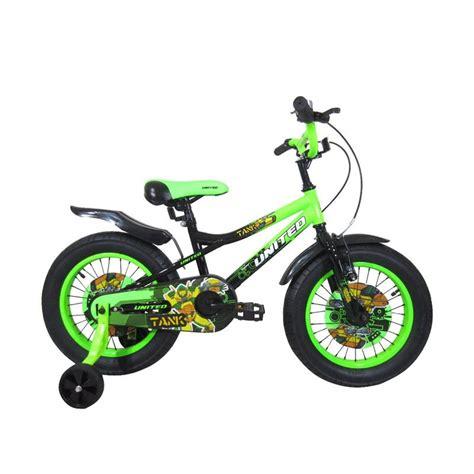 Roda Bantu Sepeda Anak United jual united tank sepeda anak 16 inch harga kualitas terjamin blibli