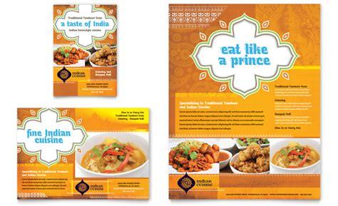 cara membuat brosur yang simple 13 contoh desain brosur makanan menarik simple elegan