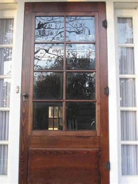 screen door change glass best 25 wood doors ideas on wood screen