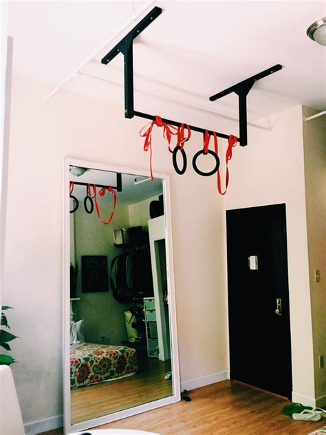 bedroom pull up bar new york city apartment pull up bar loft home gym stud