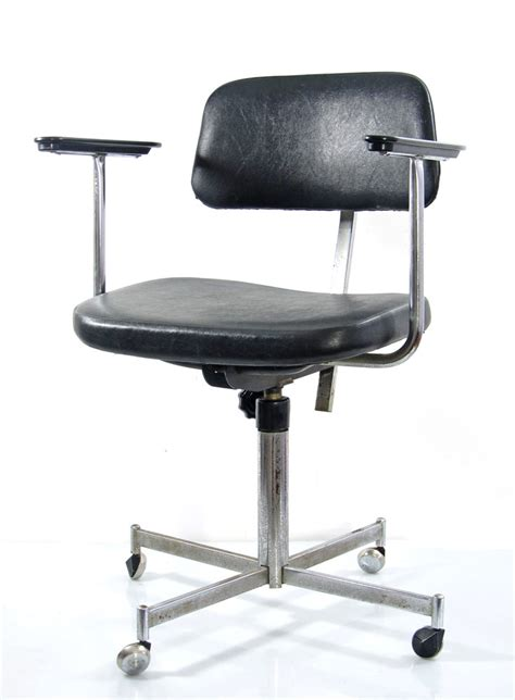 fifties vintage design adjustable desk chair