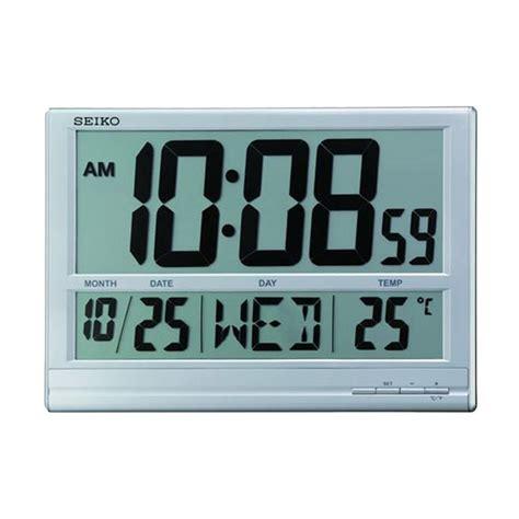 Hello Solar Swing Digital Clock by Seiko Wall Clock Qhl056s Swing Indonesia
