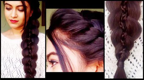 hair styles for after five simple indian hairstyle for party braided 5 strand braid