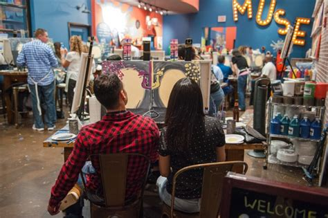 muse paintbar ridge hill calendar muse paintbar now open at willow lawn