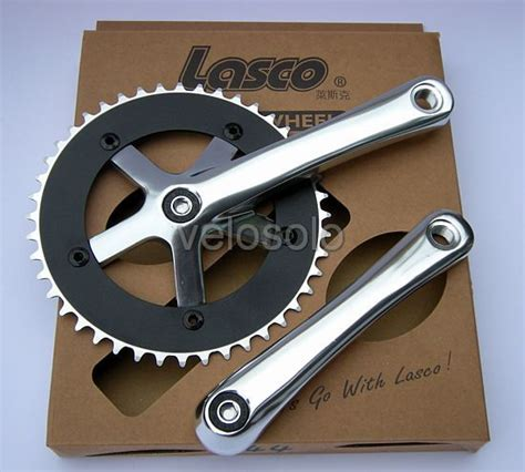 Crank Fixie Lasco By Mybikestore lasco track and singlespeed chainset fixed 165 170 single