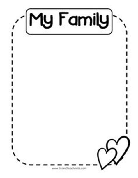 kindergarten activities my house image result for my family kindergarten worksheets