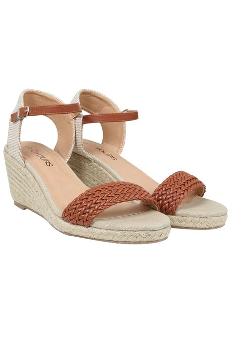 espadrille wedge sandal espadrille wedge sandal in eee fit 4eee 5eee 6eee 7eee