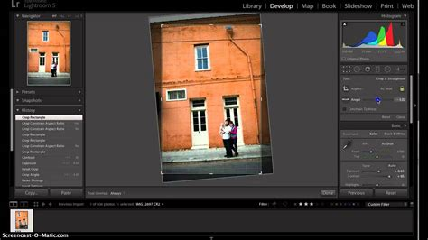 tutorial lightroom 6 deutsch lightroom tutorial crop tool youtube
