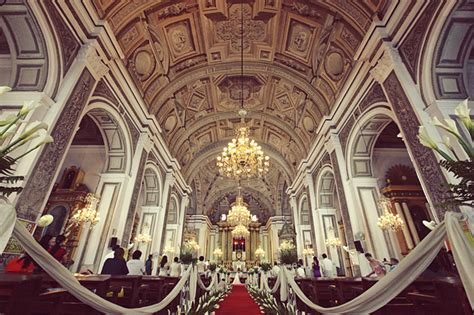 san agustin church wedding reviews the antique baroque charm of san agustin church weddings