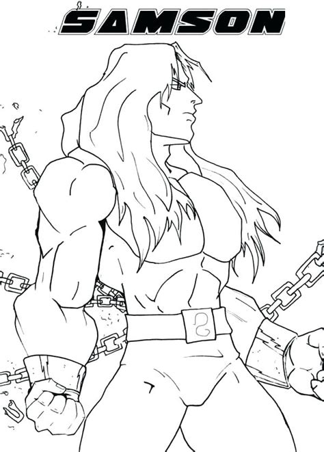 Samson Pillars Coloring Page by Coloring Pages And Judges Samson Page Pillars Cannexus Co