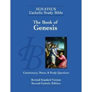 who wrote the book of genesis catholic catholic bibles review icsb genesis