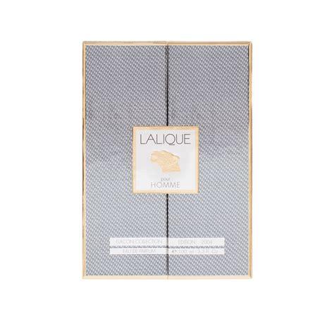 Lalique Pour Homme lalique pour homme flacon limited numbered
