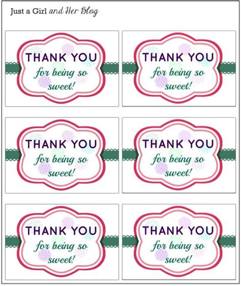 25 best ideas about thank you tags on thank 24 best images about cooperating ideas on