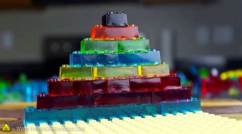 lego gummy tutorial diy edible and fully functional jelly legos