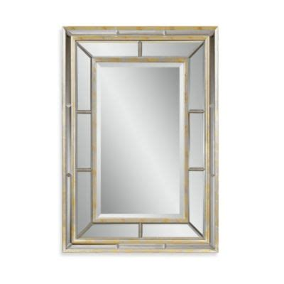 buy silver wall mirrors from bed bath beyond