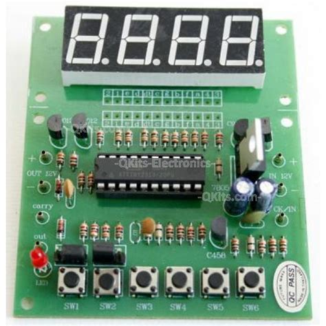Counter 4 Digit 4 digit up counter kit quality electronics store kingston ontario canada