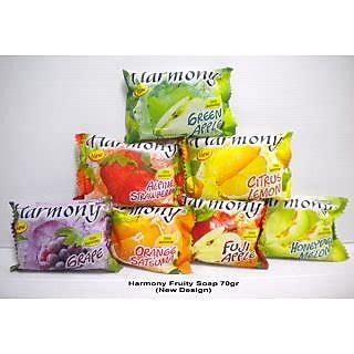 Harmony Fruity Soap Melon 70g best fruity pack harmony soap set of 12 pcs
