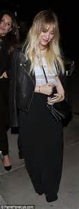 Hermes Birkin Zipper Croco Duff 2434 hilary duff and ex husband mike comrie enjoy dinner at catch la in west daily mail