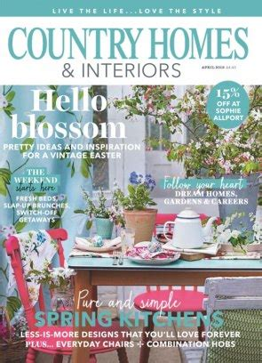 Country Homes And Interiors Uk Country Homes Interiors Magazine Get Your Digital Subscription