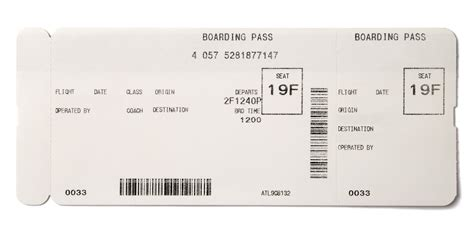 boarding card templates boarding passes as gifts le chic