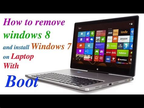 tutorial instal windows 7 acer full download how to remove windows 8 and install