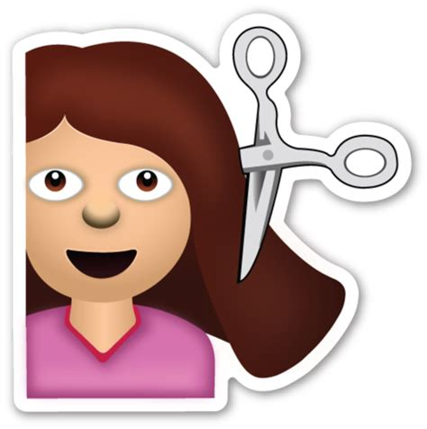 hairstyles emoji haircut