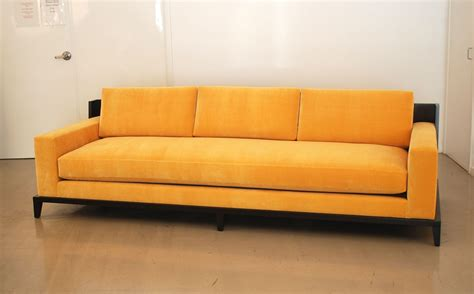 classic design custom sofa with wood framed back