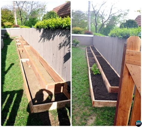 Raised Garden Fence Ideas 20 Diy Raised Garden Bed Ideas Free Plans Diy Fence Raising And Gardens