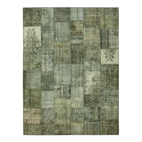 Vintage Patchwork Rugs - grey vintage patchwork rug 405x305cm