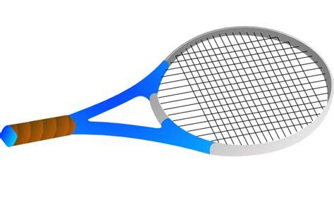Tennis Raquet Clipart horizontal tennis racquet clip at clker vector