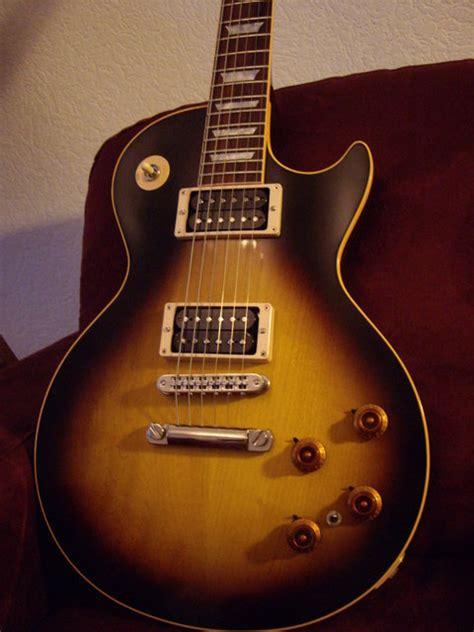 Gibson Les Paul Tobacco Slash Signature Custom photo gibson slash les paul tobacco burst gibson