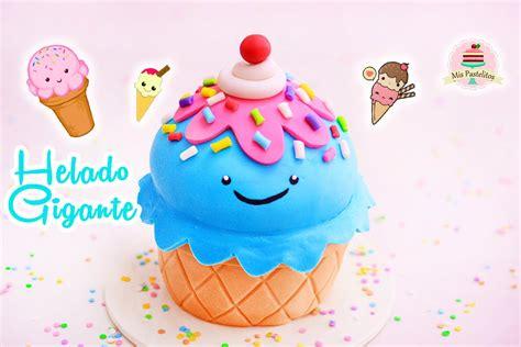imagenes de tortas kawaii haz un pastel de helado gigante kawaii mis pastelitos