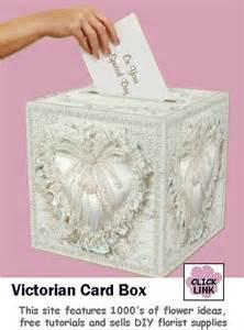Wedding Gift Card Ideas Victorian Gift Card Box