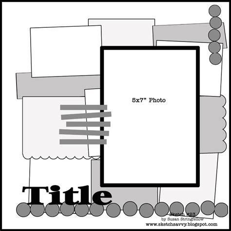 scrapbook layout sketches pinterest 90 best sketches 5x7 images on pinterest scrapbook