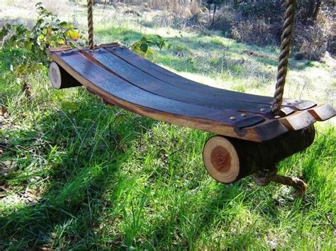 wine barrel swing 1000 images about barrels of fun on pinterest rocking