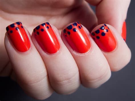 easy nail art tips easy dotted french tip opi euro centrale nail art