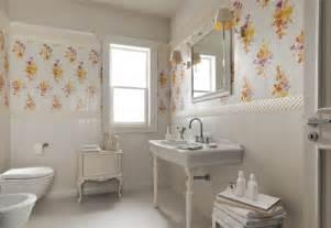 Bathroom Ideas Traditional White Floral Traditional Bathroom Interior Design Ideas
