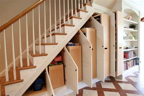 under staircase storage 8 clever ways to utilize that awkward space under your stairs