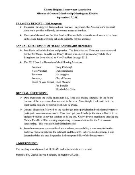 committee meeting template 28 images 28 images of hoa board meeting minutes template tonibest