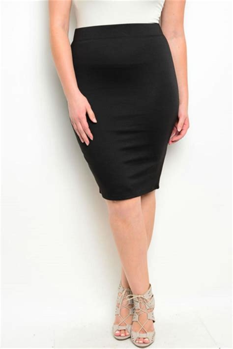 la plus size pencil skirt from idaho by hips