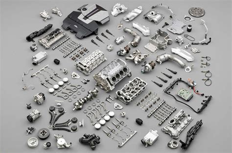 engine or motor basic engine parts component parts of