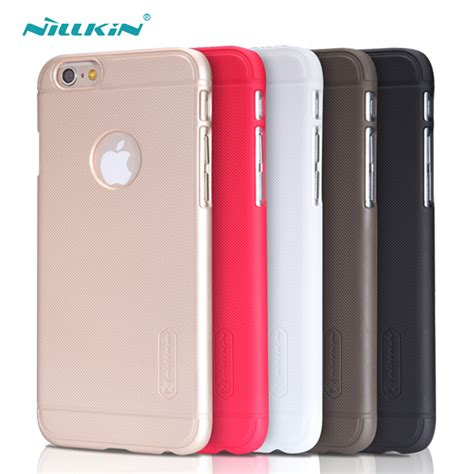 Nillkin Frosted Hardcase Iphone 55sse Gold nillkin frosted cover iphone 6 6s plus home shopping