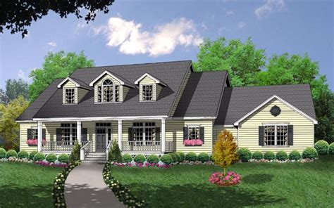 traditional cape cod house plans the country kitchen 8205 3 bedrooms and 2 baths the house designers