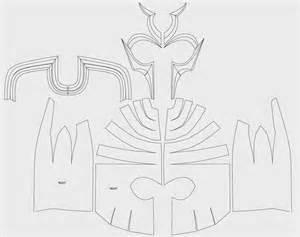 Dali Lomo 自製道具 自製萬磁王頭盔  免費設計圖 sketch template
