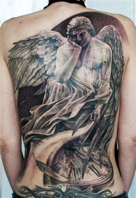 sad angel tattoo designs sad graphic religious best ideas gallery