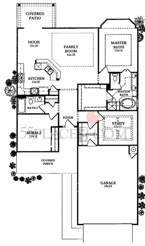 cambridge homes floor plans cambridge floorplan 1649 sq ft frisco lakes