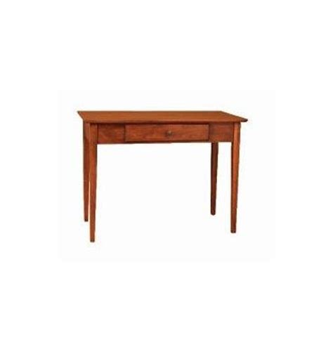 40 inch alder shaker writing table simply woods